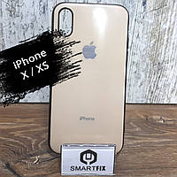 Силиконовый чехол для iPhone X / XS Glossy Logo Stone, фото 1