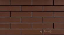 Фасадная плитка Cerrad Brown 24,5x6,5 гладкая