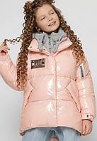 Куртка пухова на дівчинку, ріст 110-158