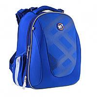 """Ортопедический школьный рюкзак каркасный """"Intensity"""" синий"""