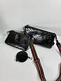 Сумка в стиле YSL комплект / натуральная кожа (995) Черный, фото 8