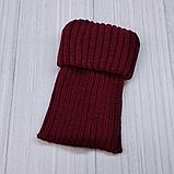 М 94061. Комплект зимний для девочки шапка и манишка , разные цвета (3-12 лет), фото 5