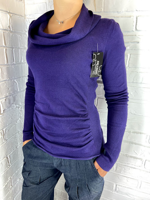 Кофта жіноча фіолетова Zhi Cheng 69