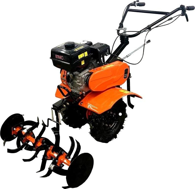 """Культиватор бензиновый Forte 80-МС, колеса 8"""", 7 л.с. (оранжевый)"""