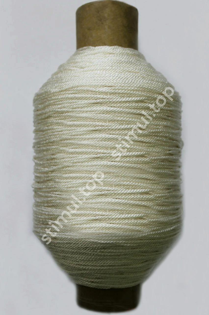 Нитка капроновая 187 текс (Ø 2.2 мм) 3в3 ➜ 1.45 кг х 760 м ➜ Посадочная нить ➜ Поліамідні нитки