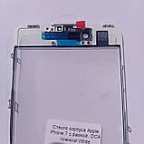 Скло корпусу Novacel для Apple iPhone 7 з рамкою OCA плівкою White, фото 3