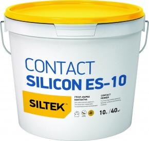 Ґрунтівка контактна силіконова SILTEK CONTACT SILICON ЕЅ-10, 10 л.