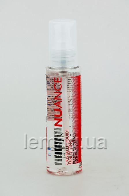 NUANCE Linseeds liquid crystals Жидкие кристаллы для кончиков волос с семенами льна, 100 мл