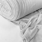 Муслин жатый 2-х слойный серый 170 см