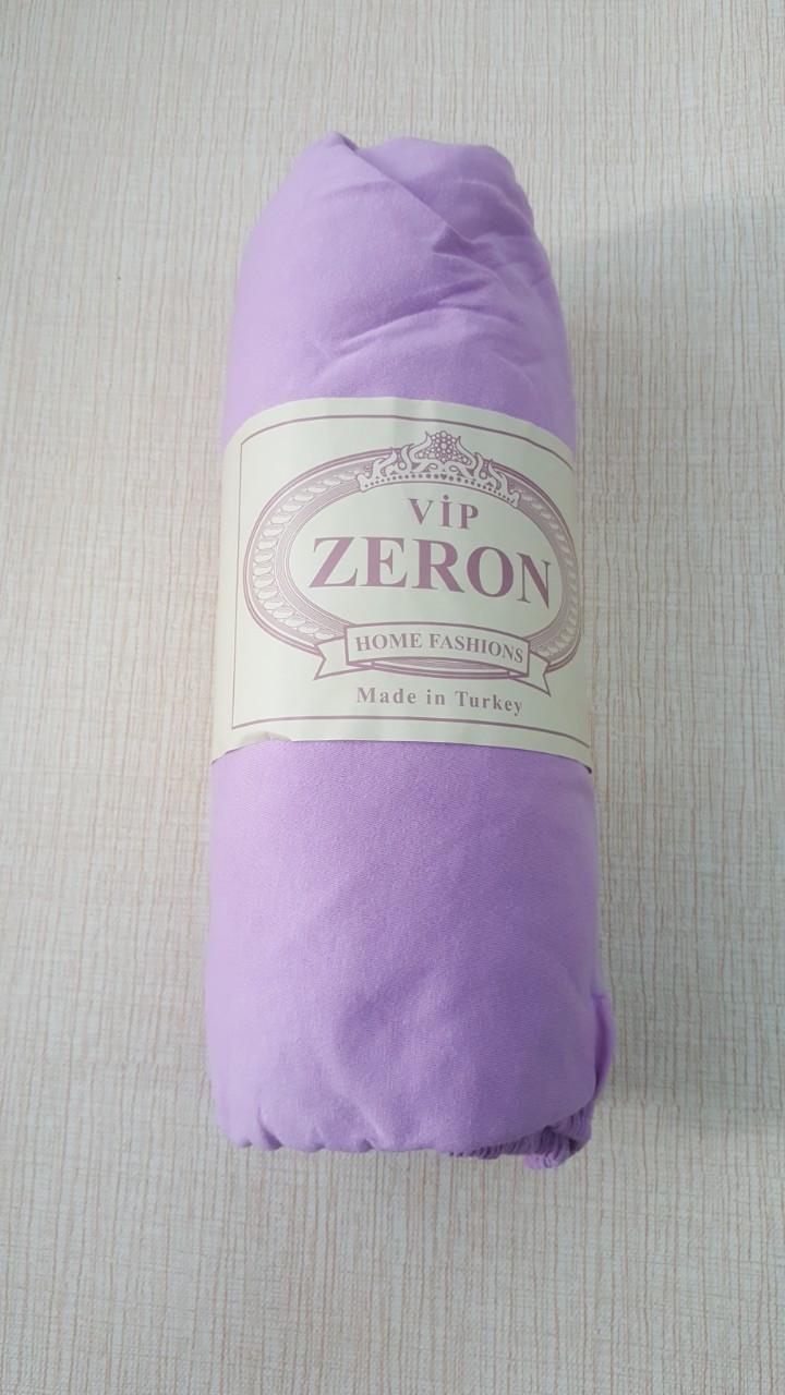 Простирадло на гумці трикотажна 180*200 бузкова (TM Zeron), Туреччина