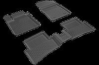 Автомобильные коврики в салон SAHLER 4D для RENAULT Clio 4 HB/SW 2012-2019 RE-03