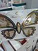 Скатерть прямоугольная Rozalite Set 160х220 +8 салфеток 35х35,  Capuccino, Турция, фото 3