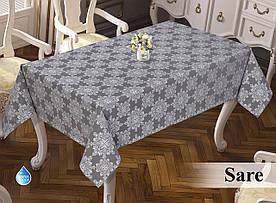 Скатертина тефлонова прямокутна Maison Royale Deluxe 160х220 Cri, Туреччина