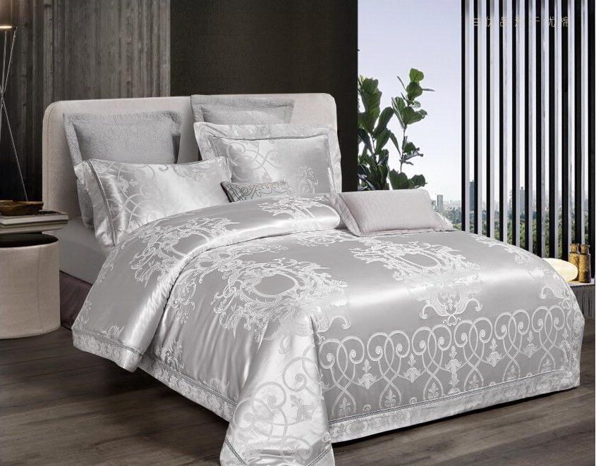 Комплект постельного белья Bella Villa Сатин 200 x 220  J-0053 Eu