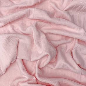 Муслин жатый 2-х слойный розовый 170 см, фото 2