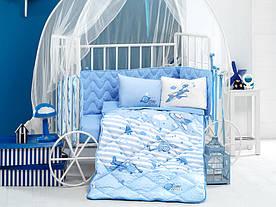 Ковдра бавовняна дитяче ліжечко 90*145 ( TM Aran Clasy) Sıper Wings, Туреччина