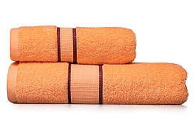 Полотенце махровое 40х70 персиковое (арт. УР101)