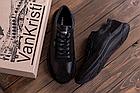 Чоловічі шкіряні кросівки Lacoste Lerond (репліка), фото 2