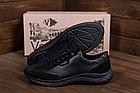 Чоловічі шкіряні кросівки Lacoste Lerond (репліка), фото 4