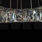 Хрустальная подвесная светодиодная люстра СветМира с пультом управления LS-8312F/650/LED, фото 3