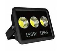 Прожектор світлодіодний LED 150w 6500K 3LED IP65 13500LM чорний/ LMP14-150