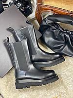 BOTTEGA VENETA Кожаные ботинки  (реплика), фото 1