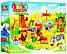 Дитячий конструктор JDLT 5031, зоопарк, ( 43 деталі), слон, жираф, білий ведмідь, лев, фото 3