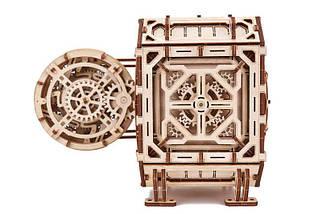 Сейф копилка Wood Trick (259 деталей) - механический деревянный 3D пазл конструктор, фото 2