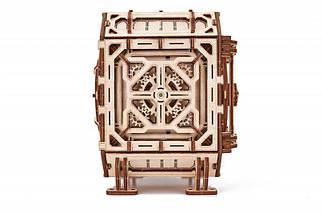 Сейф копилка Wood Trick (259 деталей) - механический деревянный 3D пазл конструктор, фото 3