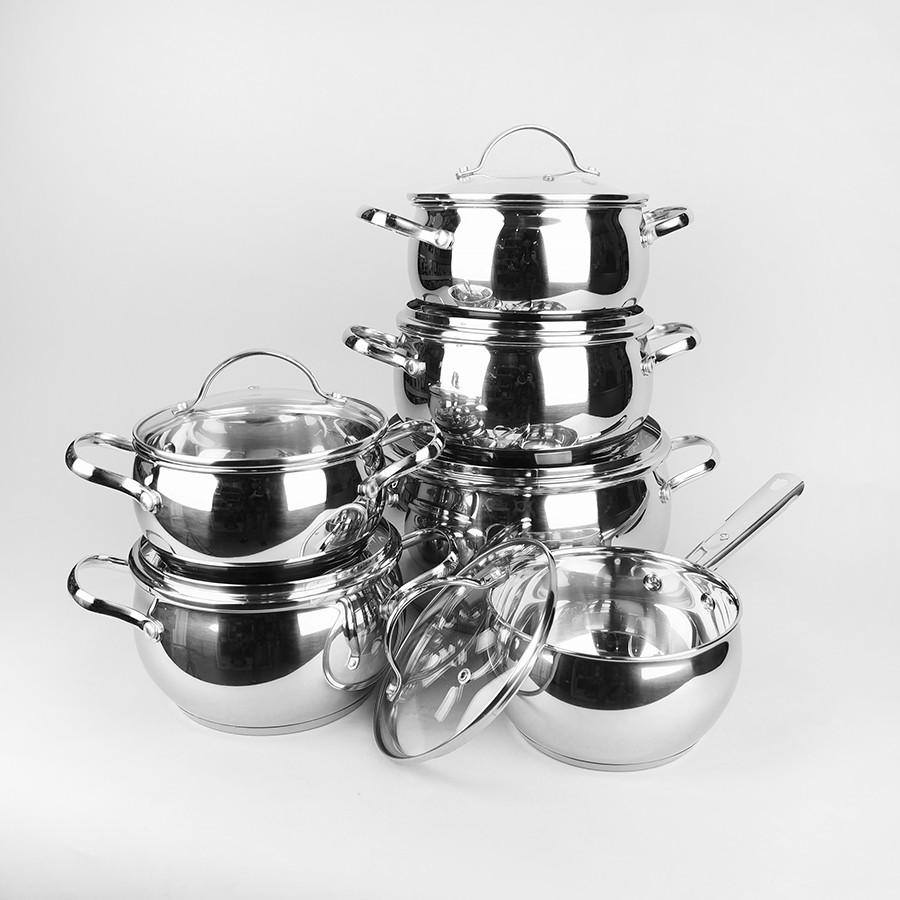 Набор посуды Maestro Jambo Apple 12 предметов (MR-3501)