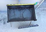 Мангал складаний зі сталі 3мм на 8 шампурів, фото 2