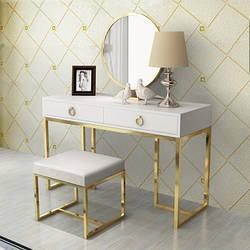 Туалетний столик, пуф, дзеркало. Модель RD-9232