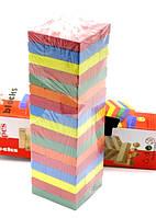 Деревянная джанга,54 дет,настольная игра Джанга,дженга