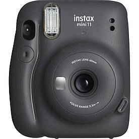 Фотокамера моментальной печати Fujifilm Instax Mini 11 Charcoal Grey
