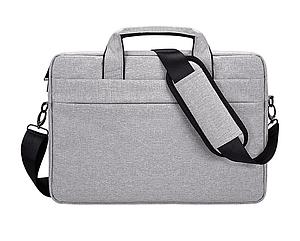 Мужская сумка портфель для документов - серый