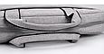 Мужская сумка портфель для документов - темно-серый, фото 9