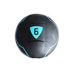 Медбол Livepro  SOLID MEDICINE BALL  черный  6кг