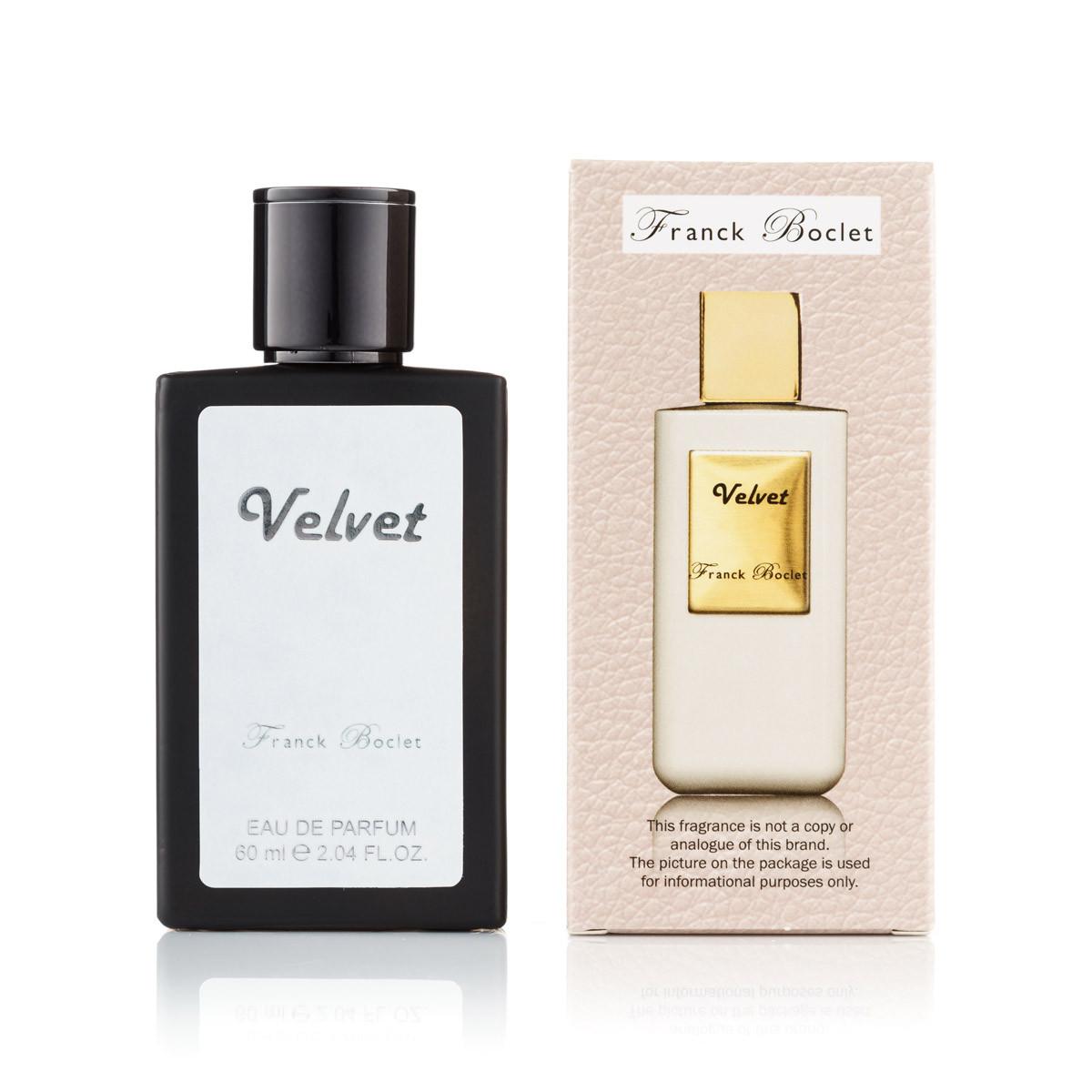60 мл мини-парфюм Velvet Franck Boclet (унисекс)