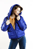 Женская повседневная куртка с капюшоном. ТОП качество. 3 цвета. Women's casual jacket with a hood. TOP quality, фото 1