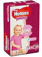 Детские подгузники-трусики Huggies  Pants 5 (12-17 кг) 34 шт. GIRL