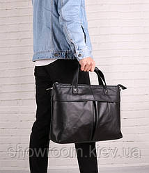 Мужская деловая кожаная сумка для ноутбука Leather Collection (375)