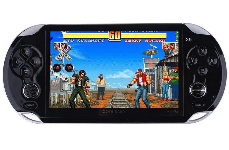 """NEW! PS Vita приставка 5,1"""" MP5 8Gb 1000 ігор"""