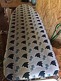 Змінний чохол для прасувальної дошки Laundry з металізованою ниткою 42х120 см, фото 10