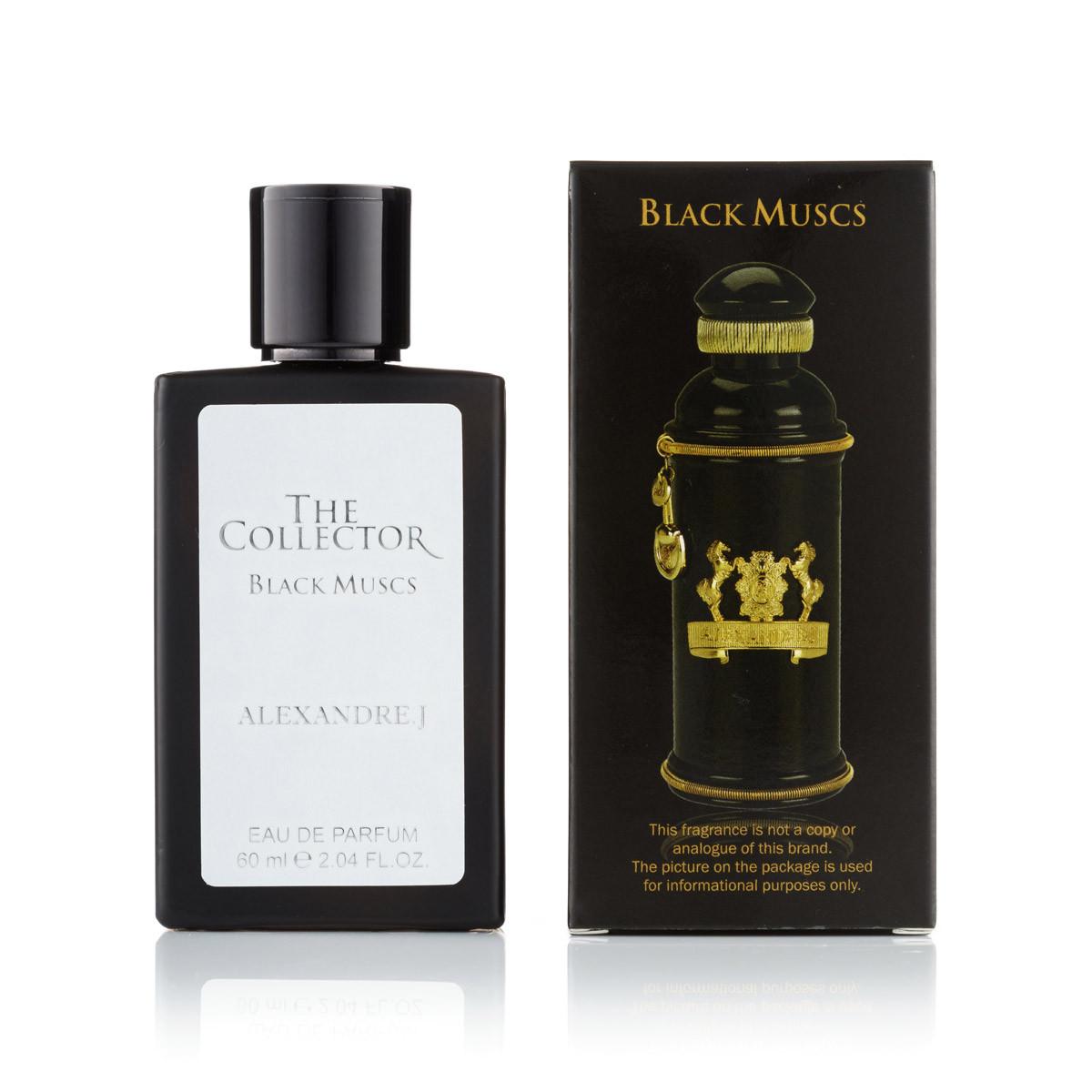 60 мл  мини-парфюм Black Muscs Alexandre J  (унисекс)