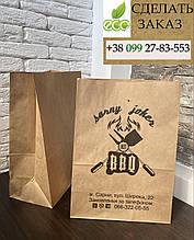 Бумажный крафт Пакет размер 250*140*350 мм.