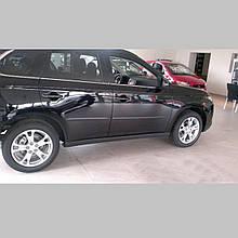 Молдинги на двері Mitsubishi Outlander 2012-2015
