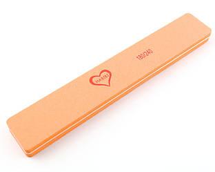 Баф прямоугольный Habibi (180/240 грит), оранжевый цвет