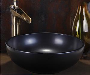 Накладна раковина для ванної Nordic Black Art. Модель RD-4411