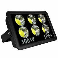 Прожектор светодиодный LED 300w 6500K 6LED IP65 27000LM чёрный/ LMP14-300