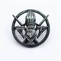 Кокарда, Беретный знак 101 отдельной бригады охраны Генерального штаба ЗСУ латунная